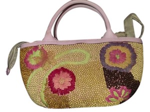 Sigrid Olsen Handbag Pink and various floral colors Clutch