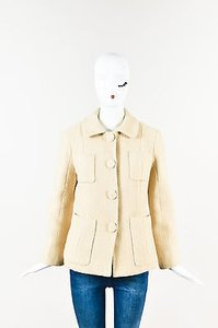 Marc Jacobs Wool Angora Cream Jacket