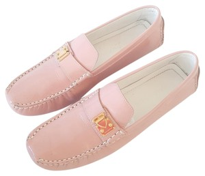 Louis Vuitton Moccasin Baby Pink Flats