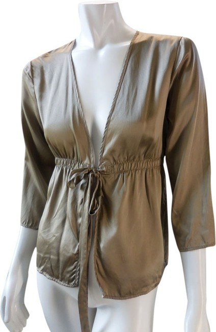 Preload https://item3.tradesy.com/images/gap-taupe-silk-tie-front-cardigan-blouse-size-6-s-1985237-0-0.jpg?width=400&height=650