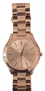 Michael Kors Slim Runway Silver Stainless Watch