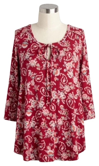 Preload https://img-static.tradesy.com/item/19852520/modcloth-new-tree-leader-paisley-xs-blouse-size-2-xs-0-1-650-650.jpg