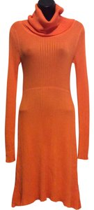 Derek Heart short dress Orange on Tradesy