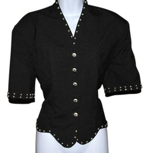 Silver River Jacket Or Top Black