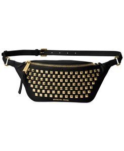 Michael Kors Belt Black Gold Travel Bag