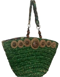 Anthropologie Tote in Green