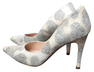 Peter Kaiser White/black/brown leopard print Pumps