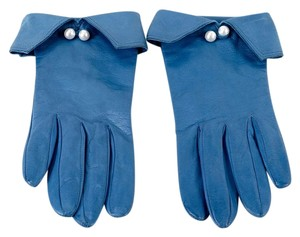 Other BLUE LEATHER GLoves