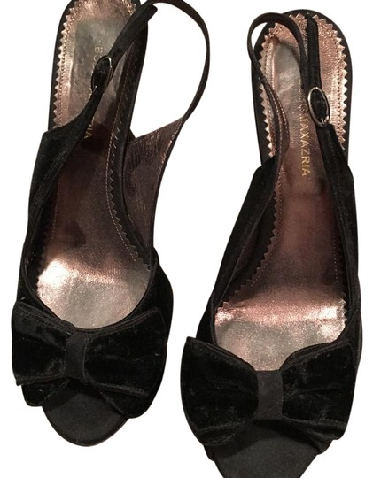 Preload https://img-static.tradesy.com/item/19852874/bcbgmaxazria-black-velvet-bow-pumps-size-us-8-regular-m-b-0-1-540-540.jpg