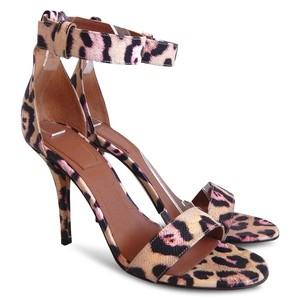 Givenchy Sandal Ankle Strap Stiletto Beige, Brown, Pink Sandals