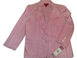 Chaps Denim Size Large Pale pink Blazer