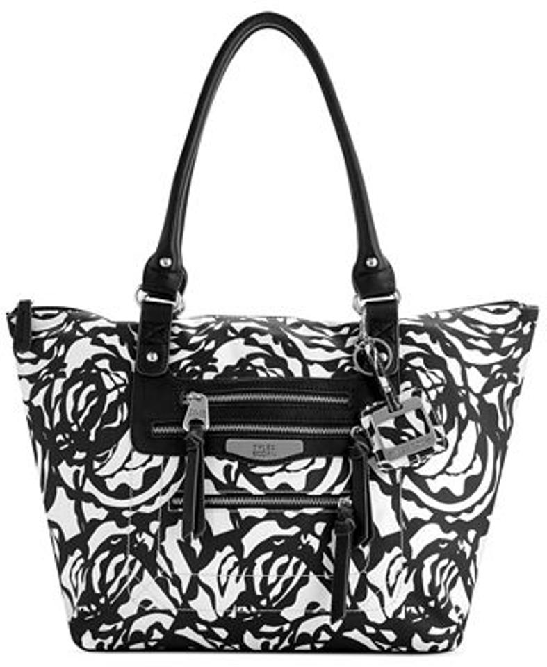 4330d9e9f362 Tyler Rodan St. Lucia Medium - Handbag - Purse Black   White   Swirl  Polyester Tote