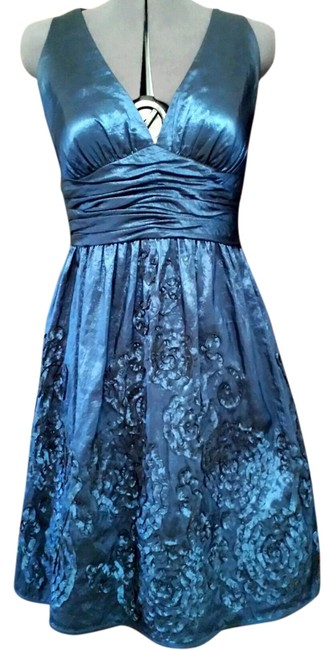 Papell Boutique (12) Deep Adrianna Couture Party Dress