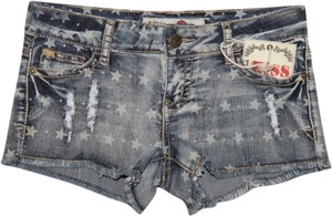 Other Mini/Short Shorts Distressed Denim