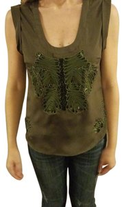 Ark & Co. Top Dark Green