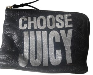 Juicy Couture Choose Juicy New Never Used Wristlet in Black