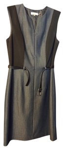 Calvin Klein Grey Blue Dress