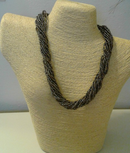 Other Women Seed Beaded Necklace Image 1