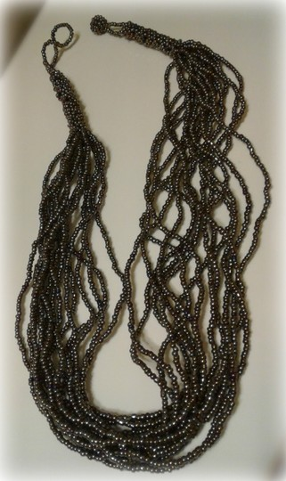 Other Women Seed Beaded Necklace Image 4