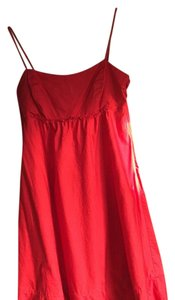 The Limited short dress Red on Tradesy