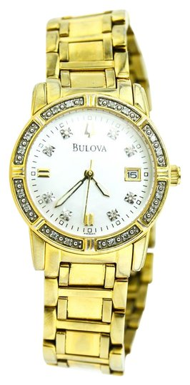 Preload https://img-static.tradesy.com/item/19853235/bulova-gold-tone-ladies-diamond-watch-0-1-540-540.jpg