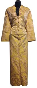 Yellow/Gold Maxi Dress by Lord & Taylor Vintage Geisha