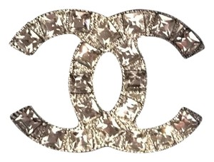 Chanel CC Chanel crystal brooch