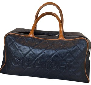 Chanel Tote in Navy Blue