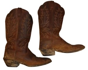 Ariat Cowboy Leather Country Brown Boots