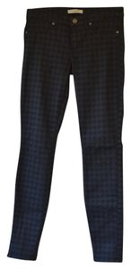 Rich & Skinny Houndstooth Skinny Jeans-Coated