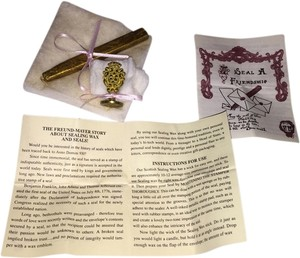 Rose Seal & Golden Sealing Wax [ Roxanne Anjou Closet ]
