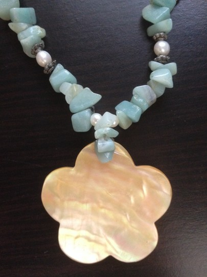 Other Ocean Stones and Shell Necklace