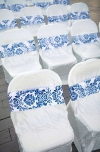 Satin White 60 Classic Chair Covers Ceremony Decoration