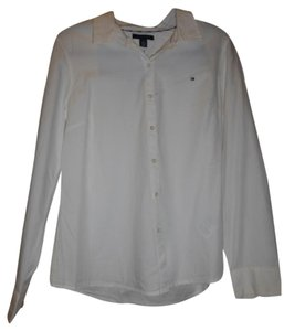 Tommy Hilfiger Career Button Down Shirt White