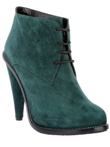 Opening Ceremony Suede Size 37 Oxford Green Boots