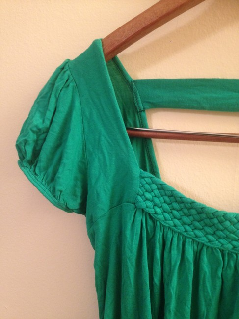 Other Cutaway Cut-out Embellished St. Patrick's Top Green