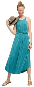 Green Maxi Dress by Maeve Anthropologie Azores Sp
