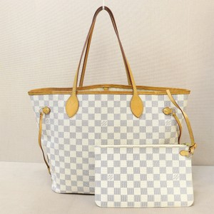 Louis Vuitton Lv Neverfull Mm Tote in Damier Azur