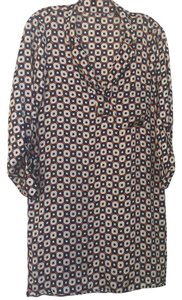 Zara short dress Retro Print Shirt on Tradesy