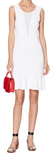 Sandro Knit Raffia Knit Dress
