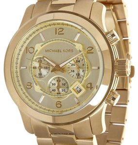 Michael Kors Oversized Gold Watch
