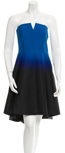 Halston Classic Ombre Dress