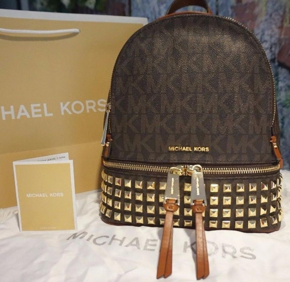 13cae3de983d Michael Kors Rhea Zip Small Studded Backpack | The Shred Centre