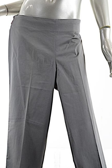 Brunello Cucinelli Stretch Sateen Straight Pants Army Green Image 2