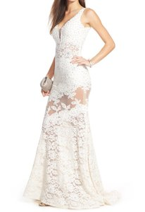 Jovani Jovani Embellished Gown Wedding Dress