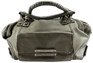 BCBGMAXAZRIA Satchel in Gray