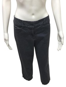 Ann Taylor LOFT Capri/Cropped Pants Faded Navy