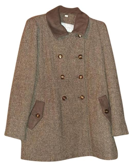 Preload https://img-static.tradesy.com/item/19854421/jessica-simpson-brown-and-pink-tweed-coat-size-12-l-0-1-650-650.jpg