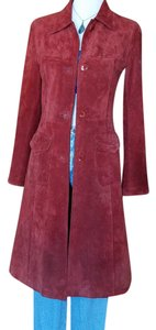 John Carlisle #vintage #suede #leather Trench Coat