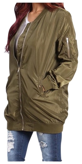Boutique Branded Military Jacket Image 0